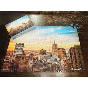 "19.25"" x 28"" - 1000 Piece Custom Printed Puzzle and Box"