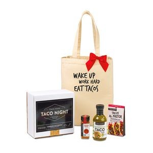Family Taco Night Fiesta Gift Set - Natural