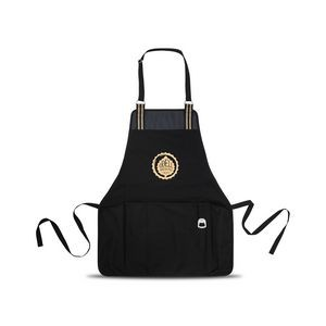 Charlie Cotton Grill Apron - Black