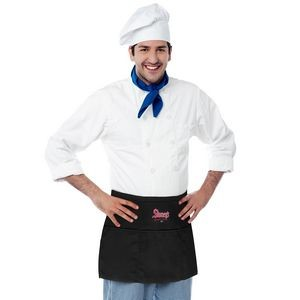 5.9oz 100% Polyester Waist Apron (Direct Import - 8-10 Weeks Ocean)